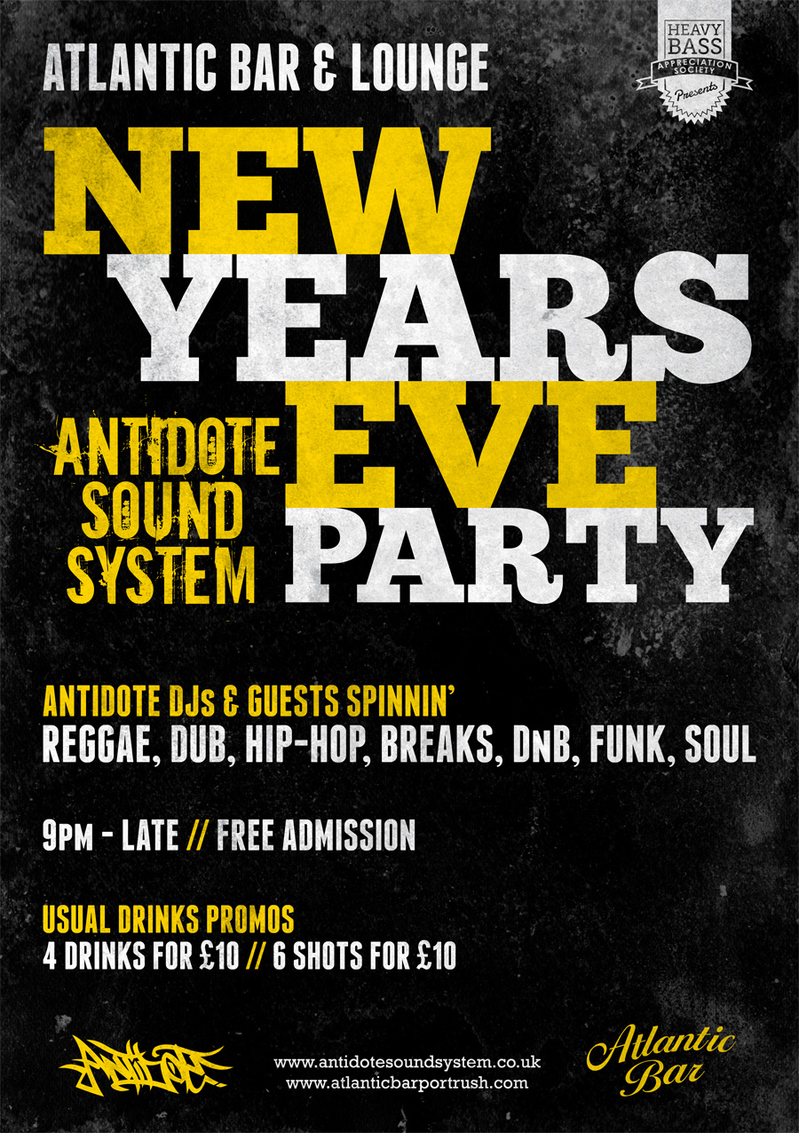 10 amazing new year s eve party poster designs